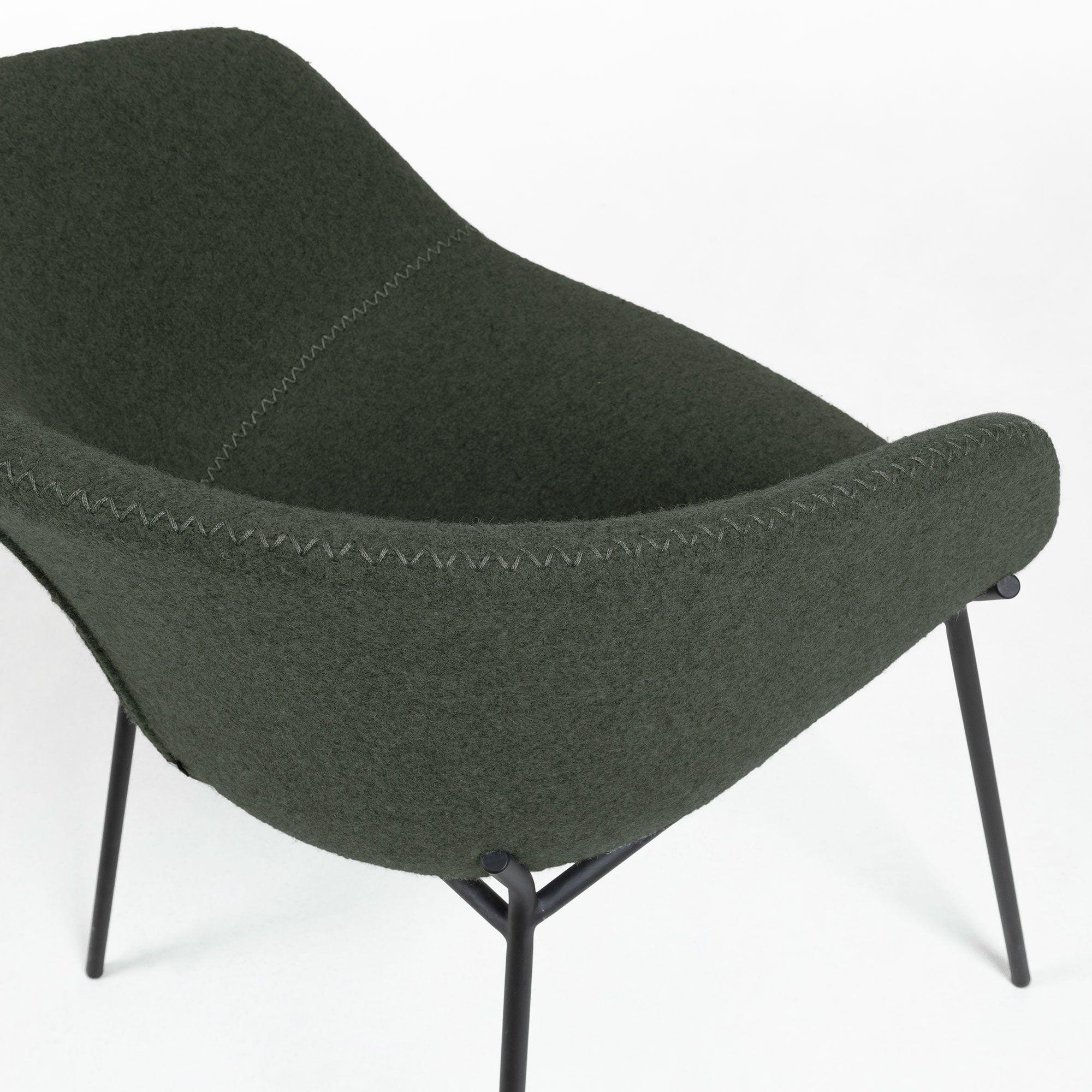 Armchair Zadine | Dark Green
