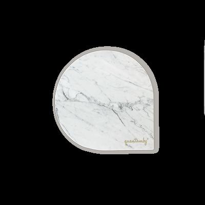 White Marble Tray   Q