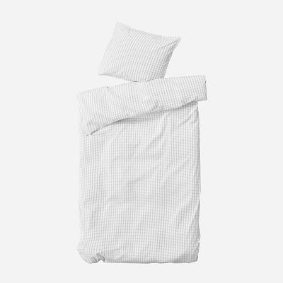 Einzelner Bettbezug mit Kopfkissenbezug 60 x 63 Erika   Schnee & Kohle