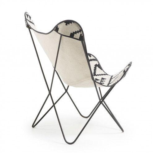 Lounge Chair | Grafik Schwarz-Weiß