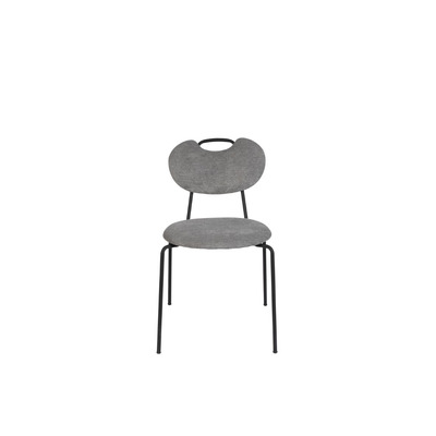 2er Set Stühle Aspen   Grau