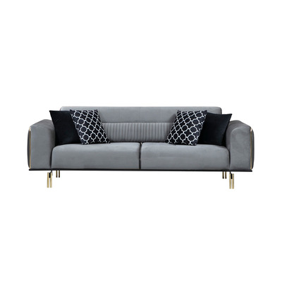 3-Sitzer Sofa London | Grau
