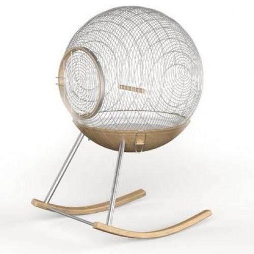 Rocking birdcage