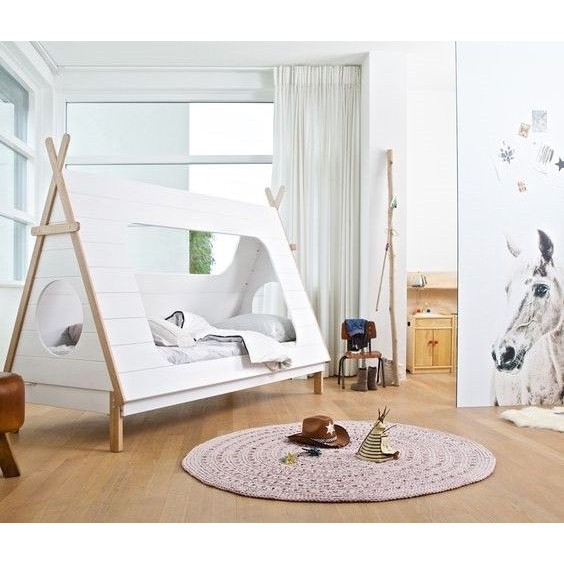 Tipi-Bett | Weiß