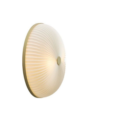 Lamella Ceiling/wall Lamp | Golden