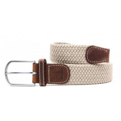 Braided Women's Belt | Sand Beige