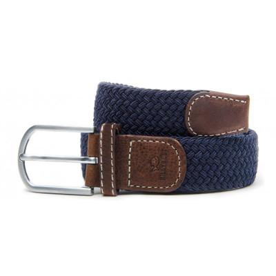 Braided Men's Belt | Marine Blue