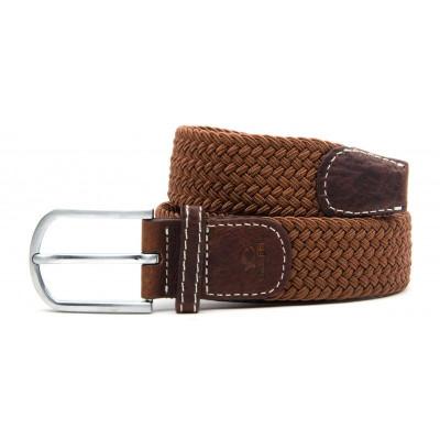 Braided Men's Belt | Camel