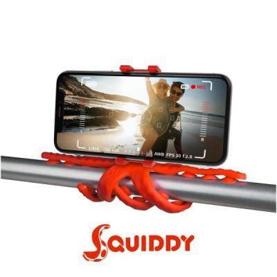 Flexibles Stativ Squiddy   Rot