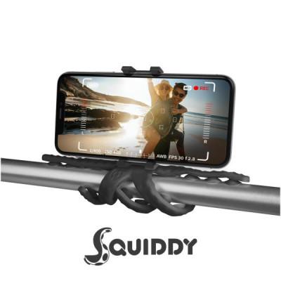 Flexibles Stativ Squiddy | Schwarz
