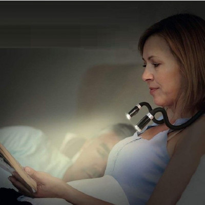 Rechargeable 4 LED Book/Neck Hug Light