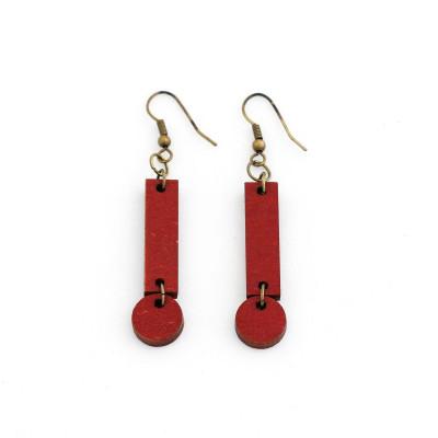 Cerilla Earrings   Red