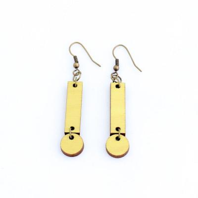 Cerilla Earrings   Yellow