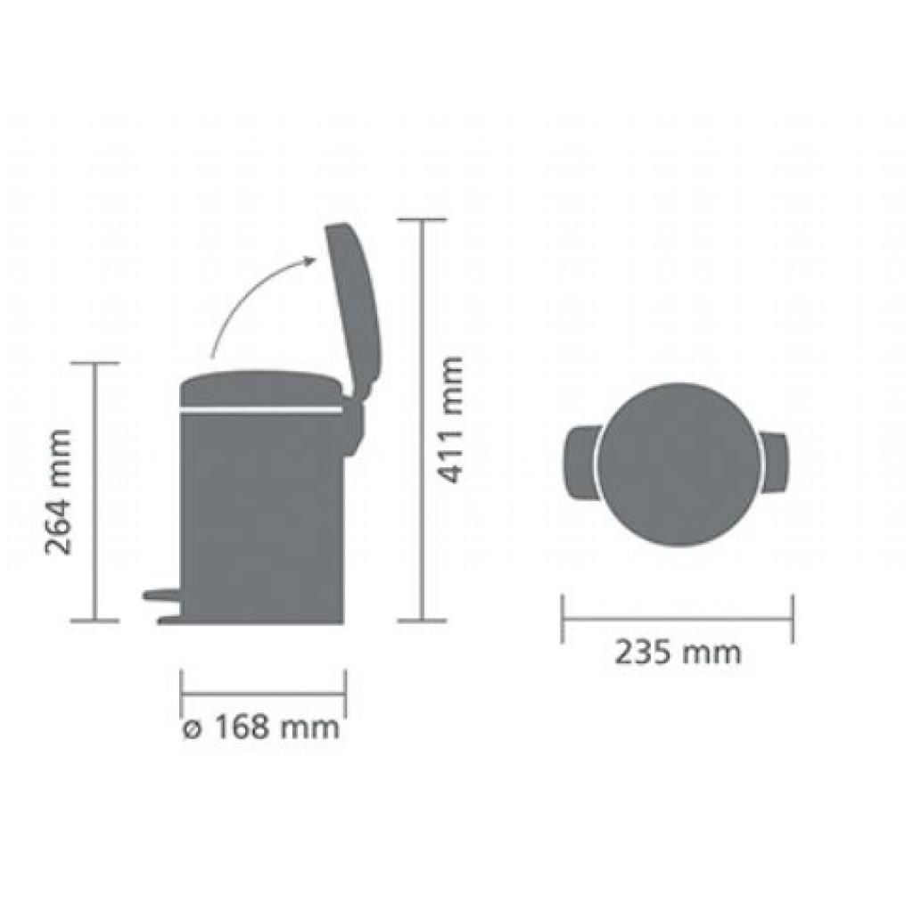 Treteimer NewIcon 3 L  | Champagne