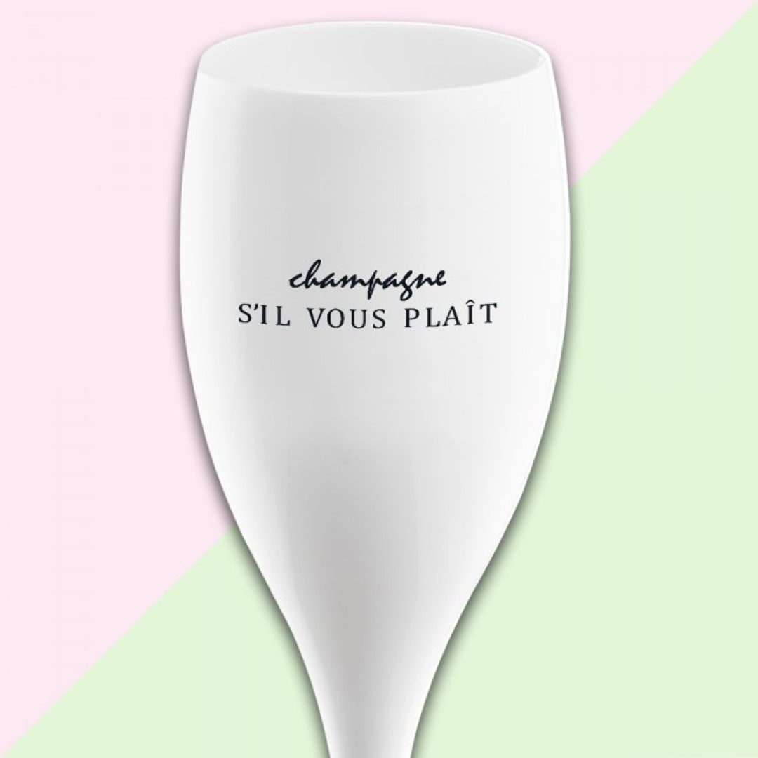 Champagnergläser S'il Vous Plait | 6er-Set