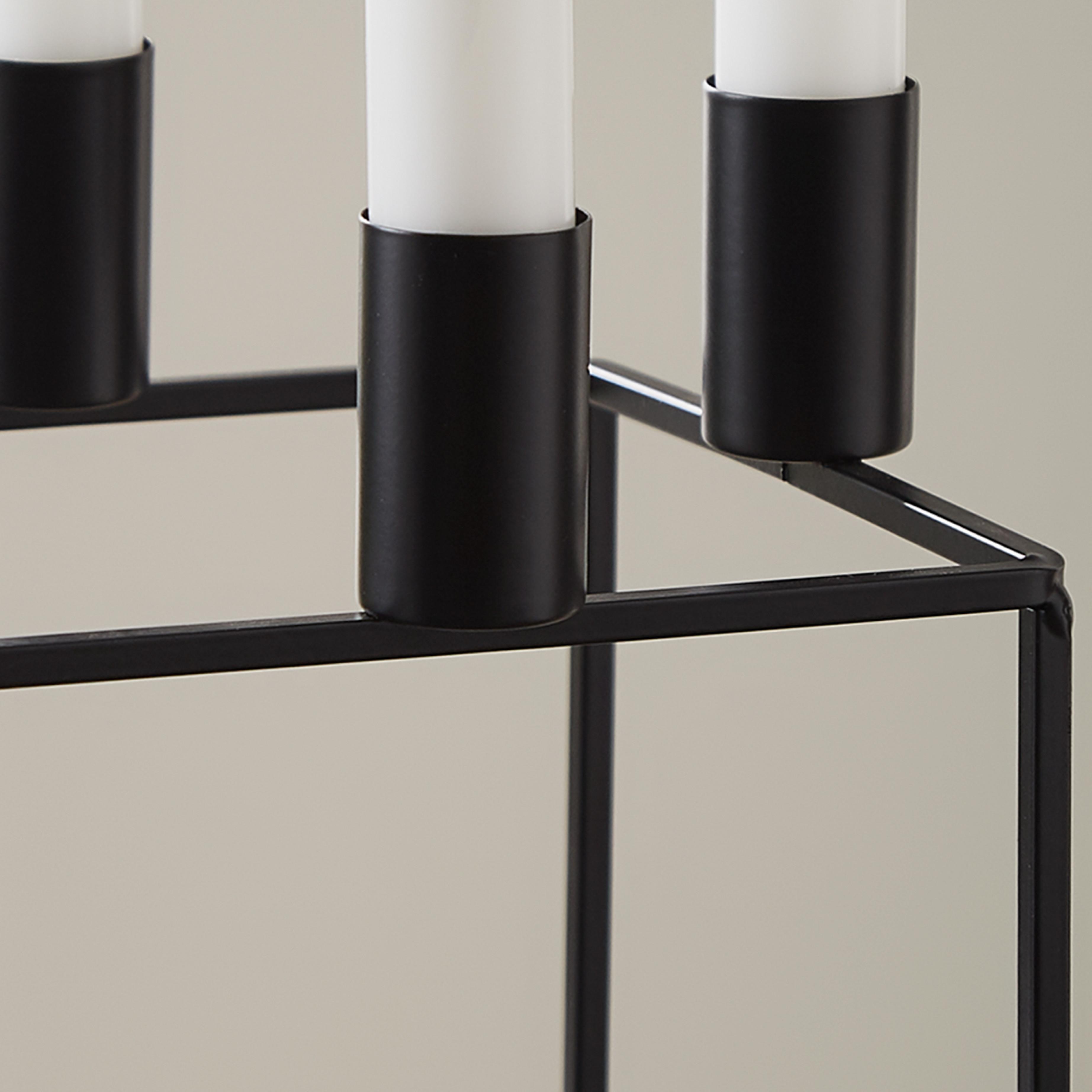 Kerzenständer Kerzenhalter | Schwarz