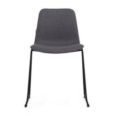 Stuhl Forett U 2er-Set | Grau