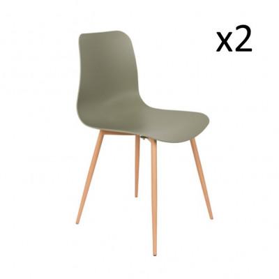 2-er Set Stühle Leon | Blau