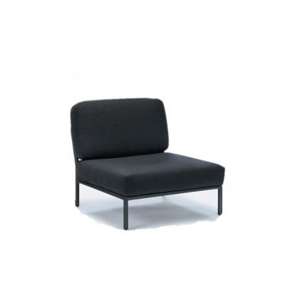 Outdoor-Lounge-Stuhl Level | Sooty Grey