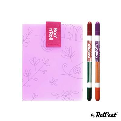 Wiederverwendbare Sandwichfolie Boc'n'Roll-Farbe Chamäleon | Violett