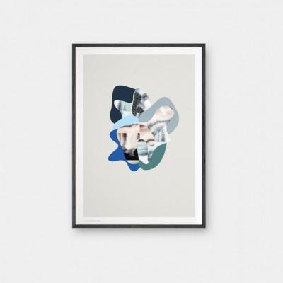 Chaos Poster | Grau