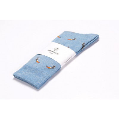 Men Socks Birdy | Azul