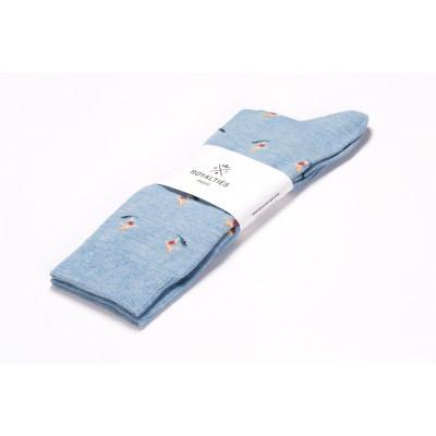 Men Socks Kelly | Azul