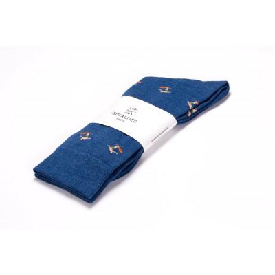 Men Socks Kelly | Cobalt