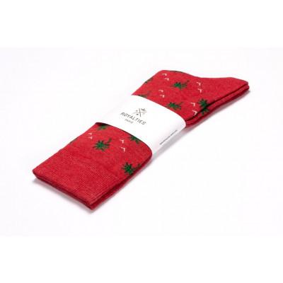 Men Socks Palmier | Tangerine