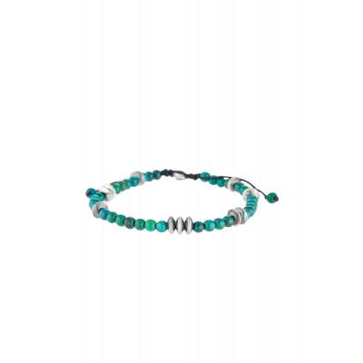 Sterling Silber Bali-Türkis Armband | Hugo
