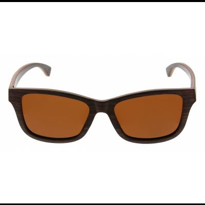 Unisex-Sonnenbrille Chepri | Walnuss