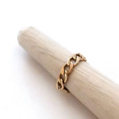 Chiavari Ring | Gold-plated