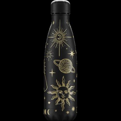 Mehrwegflasche Mystic   Schwarz - 500 ml