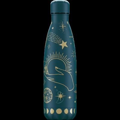 Mehrwegflasche Mystic   Grünblau - 500 ml