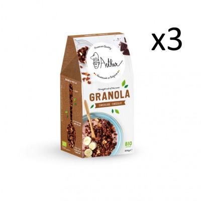 Müsli 300 g 3er-Set | Schokolade