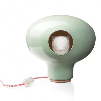 C'est Chouette! lamp Green