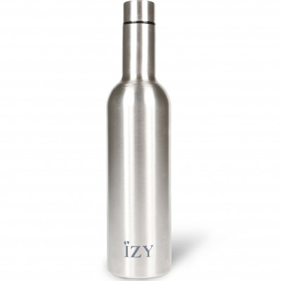 Thermo Trinkflasche 750 ml | Chrom