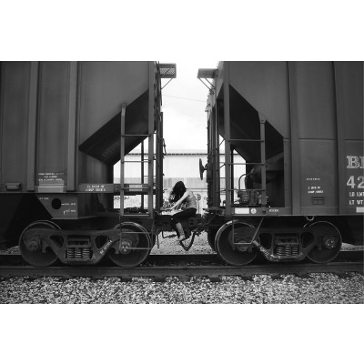 """Art Photograph """"Chu Chu Train"""""""