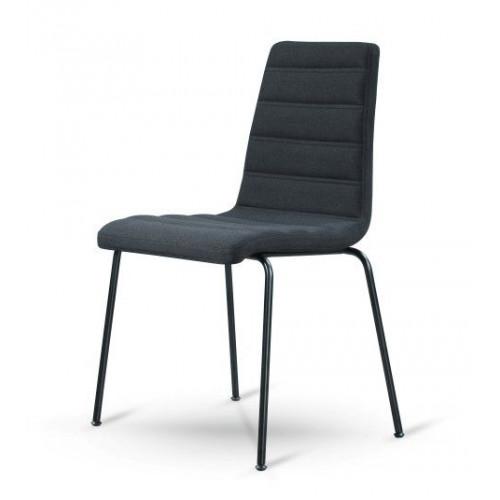 Dundie Chaise Set de 2   Noir
