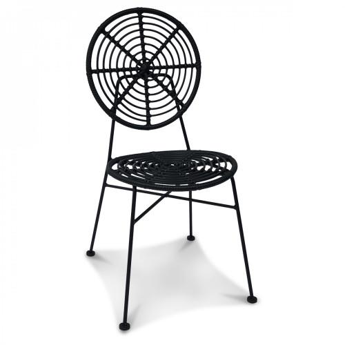Chaise Jasper | Noir