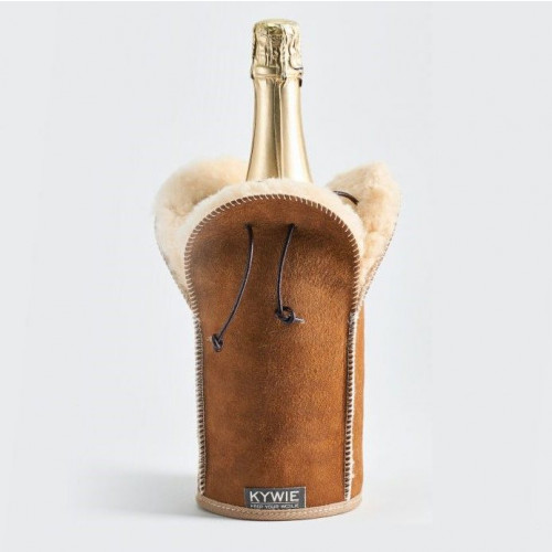 Durable Champagne coolers Of Wool   Camel