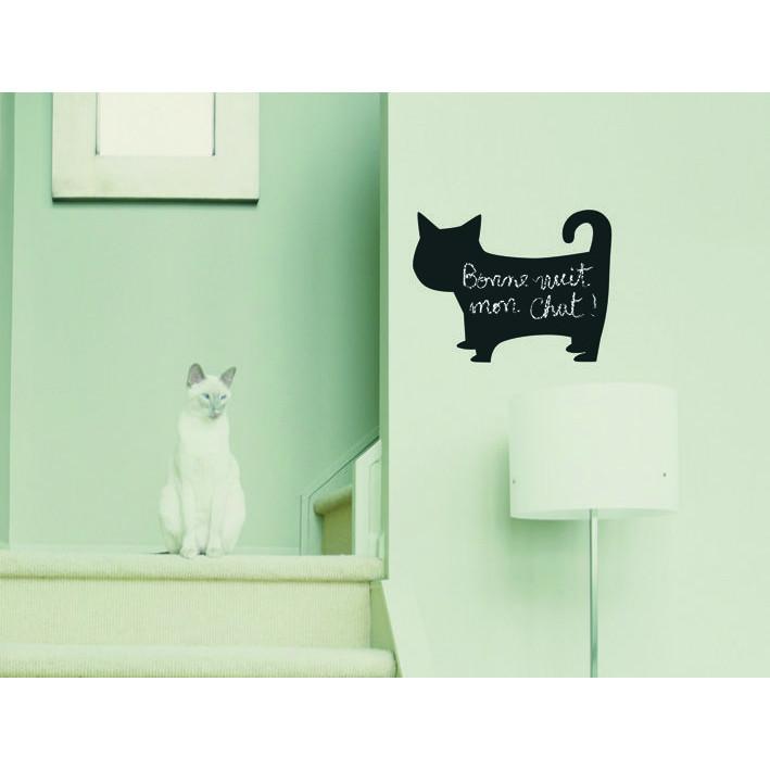 Self Adhesive Chalkboard Cat