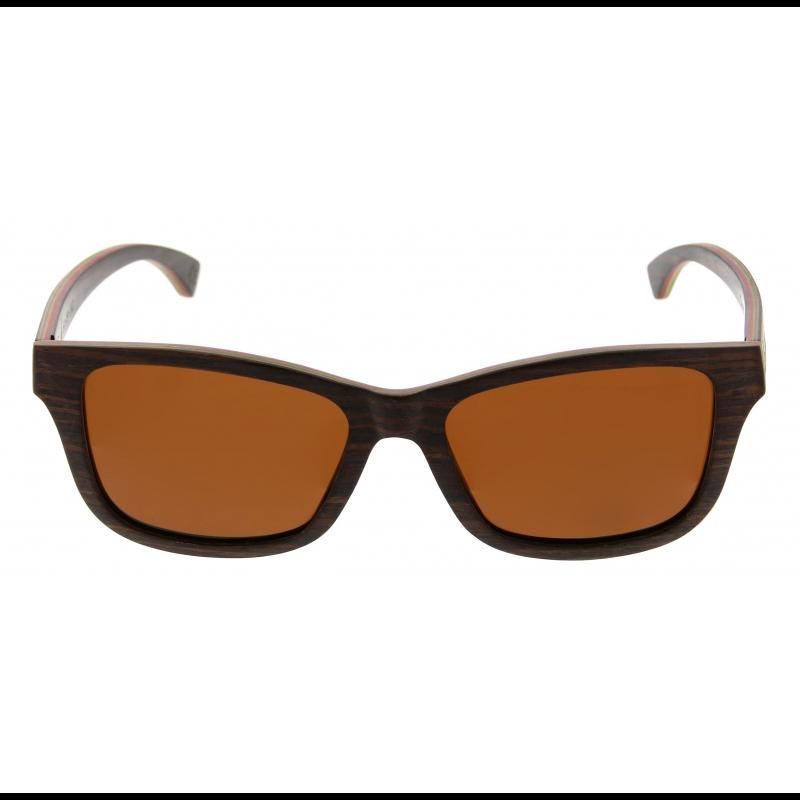 Unisex-Sonnenbrille Chepri   Walnuss