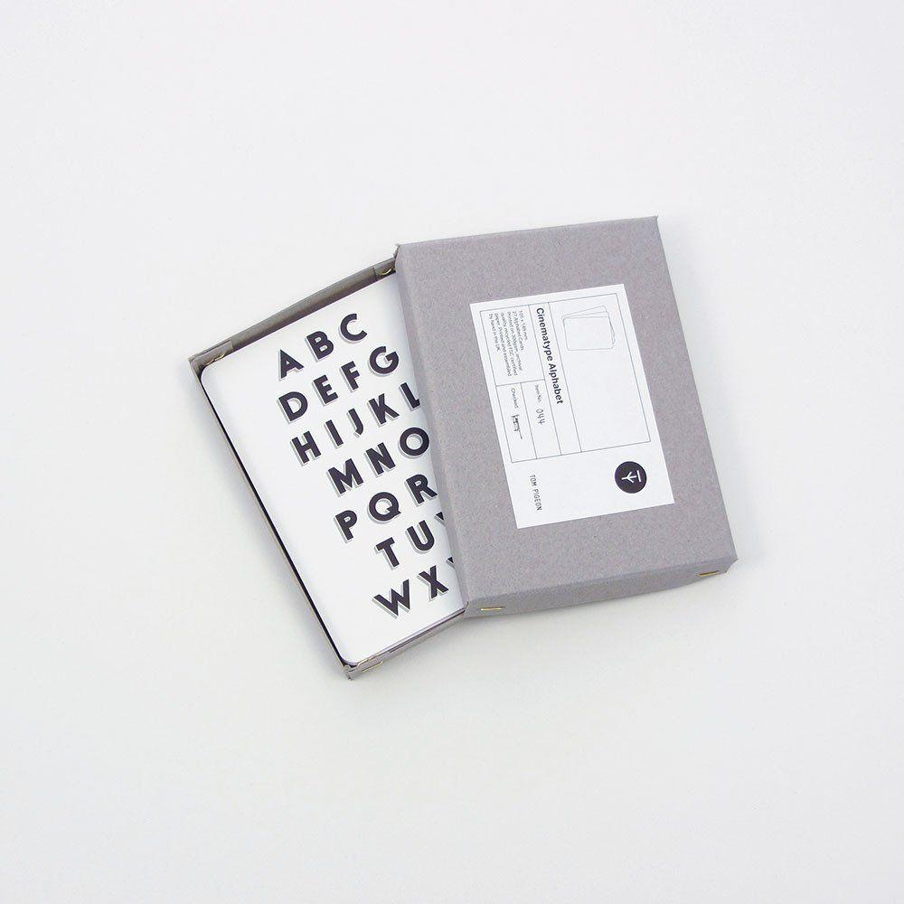 Cinematype Alphabet Box