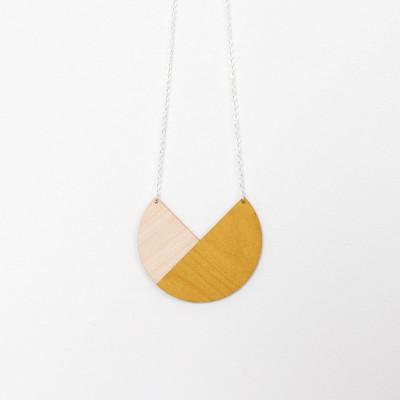 Snug. geometric Circle   Mustard