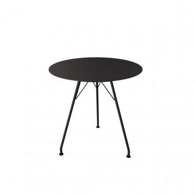Außencafe-Tisch Circum | Runde Schwarz