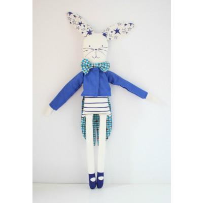 Zirkuskaninchen Blau