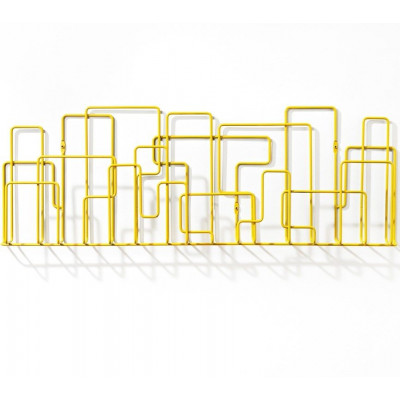 City Sunday Magazine Rack Yellow