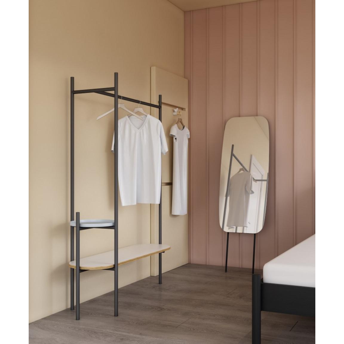 Clothing Rack Entrer   White