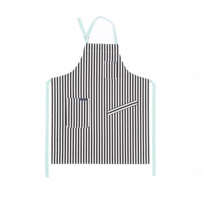 Küchenschürze Classic | Weiß & Schwarz